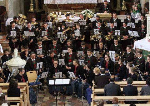 Messfeier anlässlich der 150-Jahr Feier Musikkapelle Mühlwald