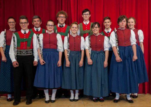 Musikkapelle Mühlwald: Klarinetten
