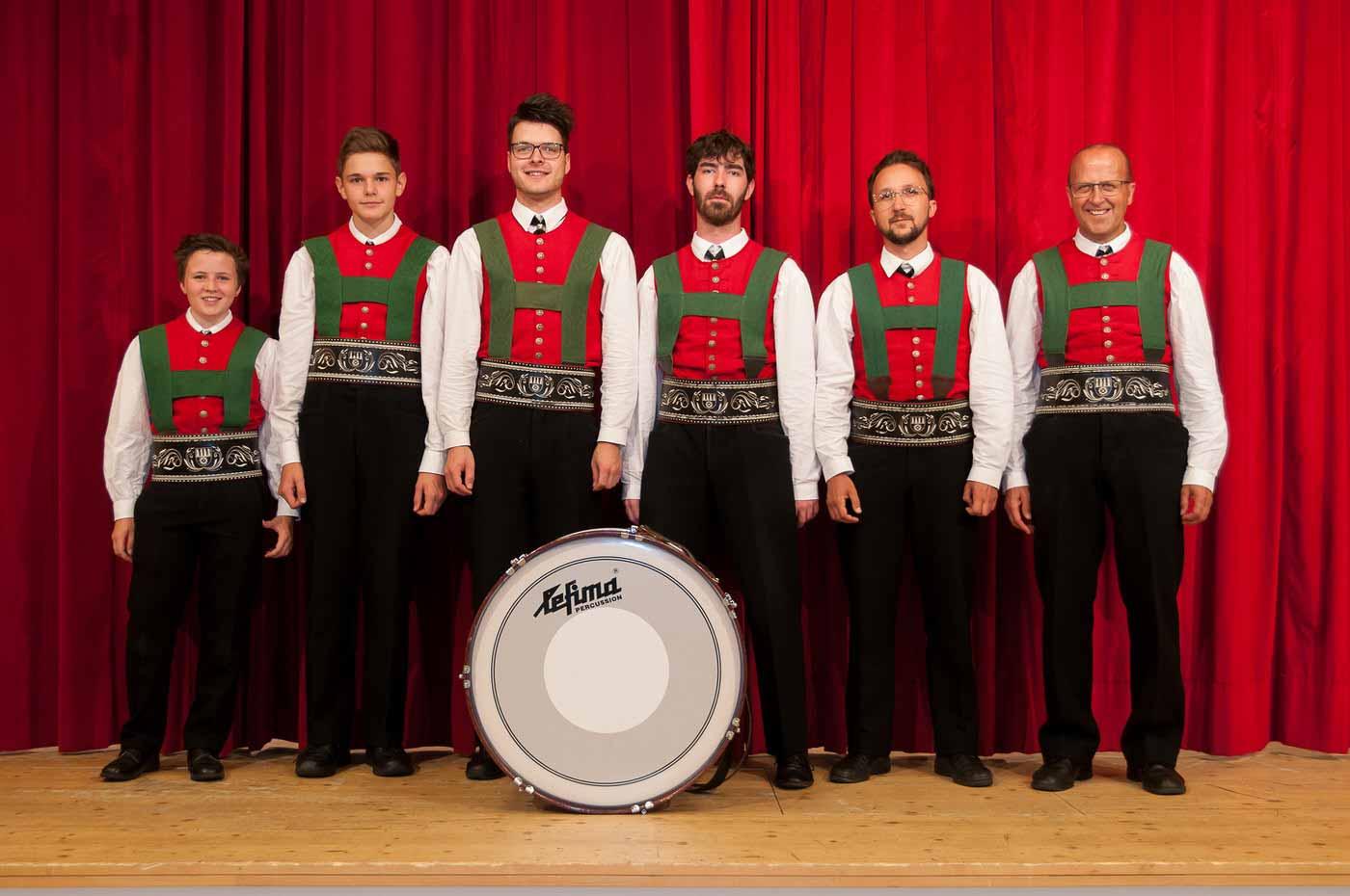 Musikkapelle Mühlwald: Schlagzeug